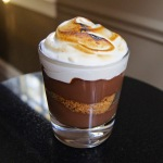 S'more-Style Chocolate Whiskey Pudding